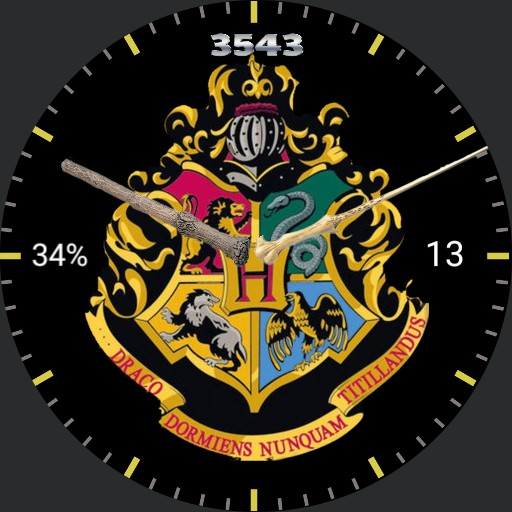 Harry Potter  crests/wands