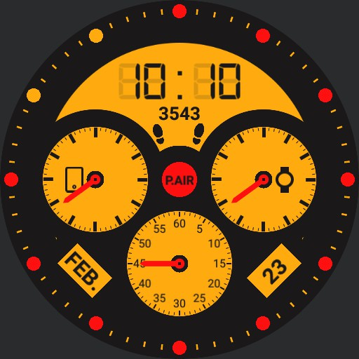 P.AIR Five red dots