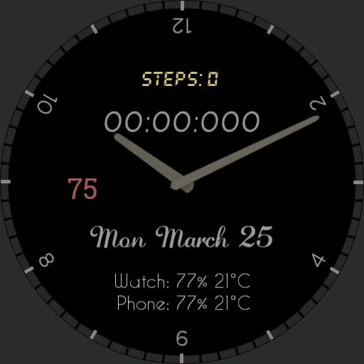 My slimplistic stopwatch