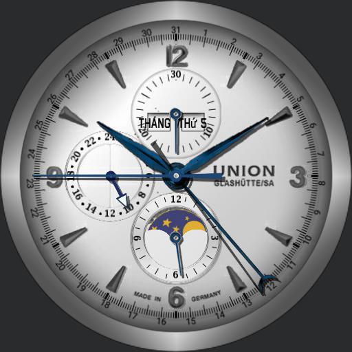 Union Glashutte Belisar Chronograph Mondphase D009.425.16.017.00