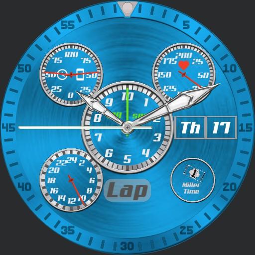 091220 V1.6 Stopwatch Lap timer uColor
