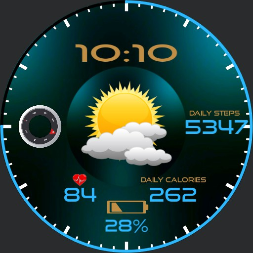 Weather and Compass combo