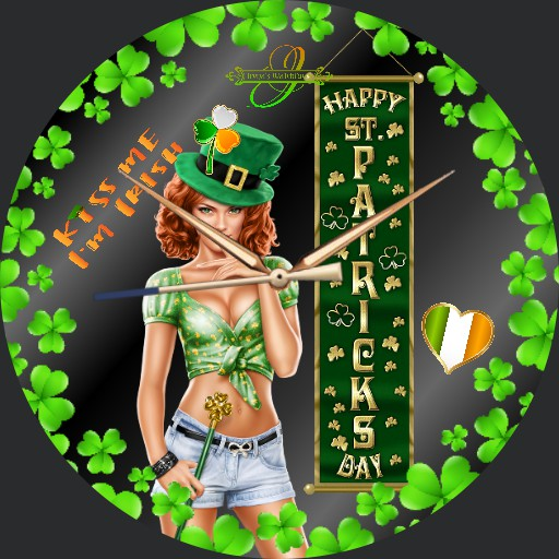 Saint Patricks Day Irish Mens Watch
