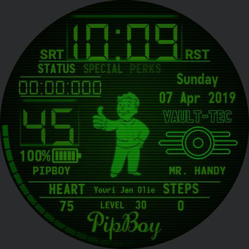 PipBoy Adaptation of Jizars watch Copy