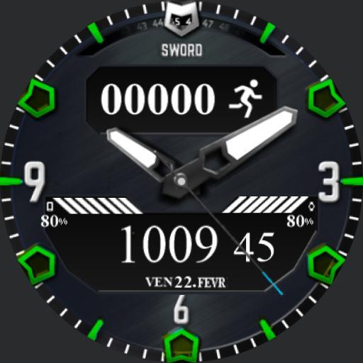 sword watch face
