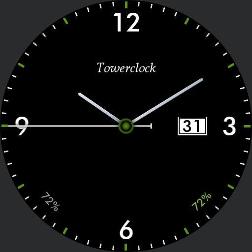 towerclock minimal