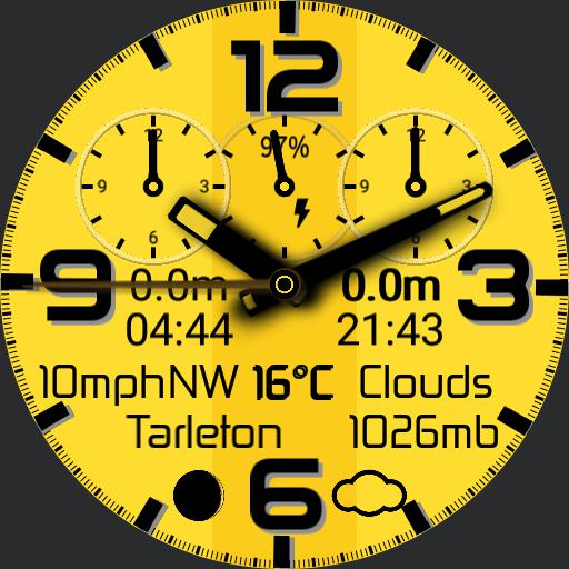 Towerclock yellow Copy