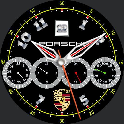 Yann Porsche compteur