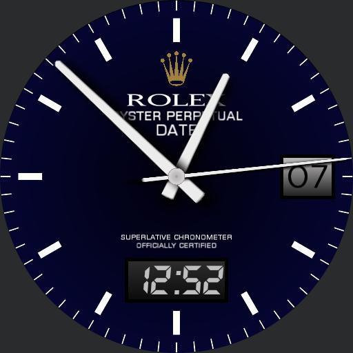 Oyster Perpetual Blue