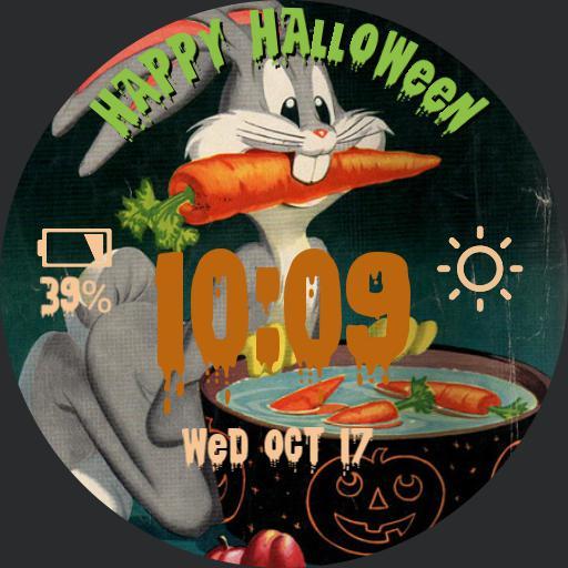 Vintage Halloween Bugs Bunny