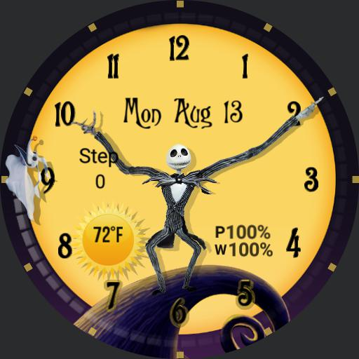 Nightmare Before Christmas  - Round watch face Copy