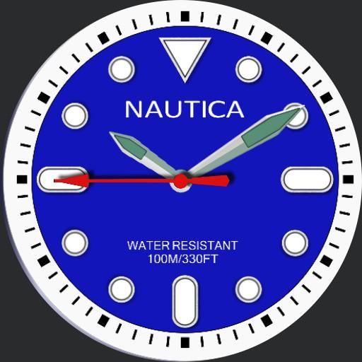 blue divers watch