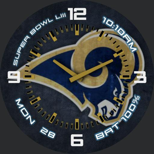 LA Rams Superbowl LIII