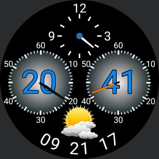 Dualing dials