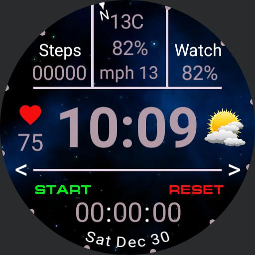 SF Clean Digital Watch