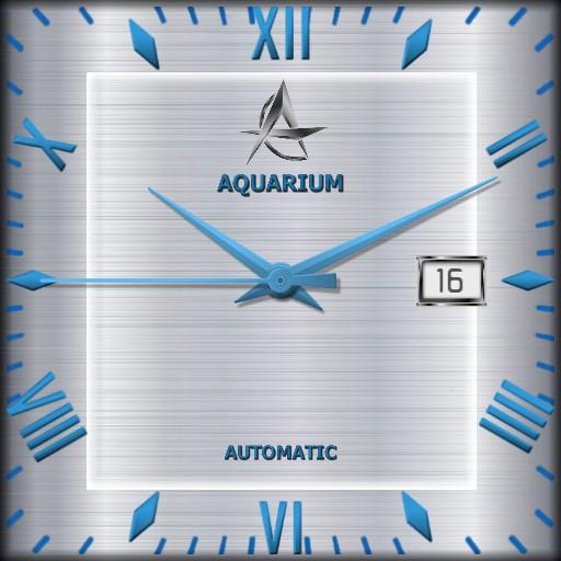 Aquarium Elegant / 3 in 1 Square watch