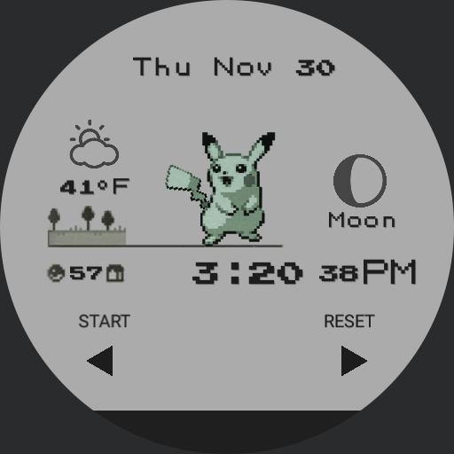 Pikachu Watch Chrono Final Customized