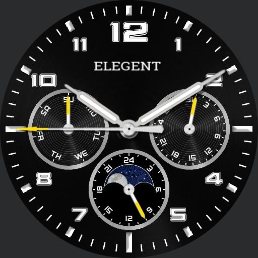 Elegent Moonphase Watch V2