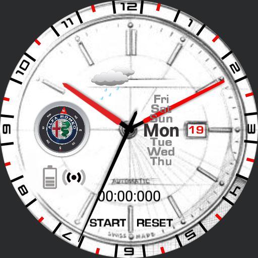 Alfa Romeo Classic Watch