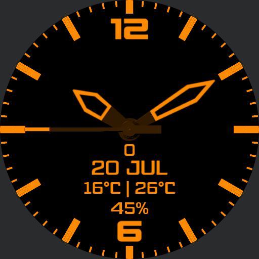 Rotating Data Orange