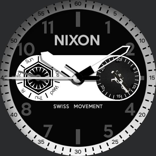 nixon safari deluxe  watch