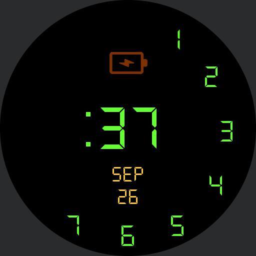 BTTF Numeral GRAFIX - v01