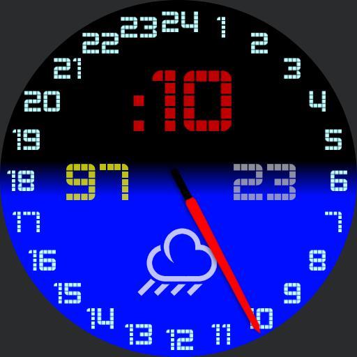 24H Russian Submarine watch