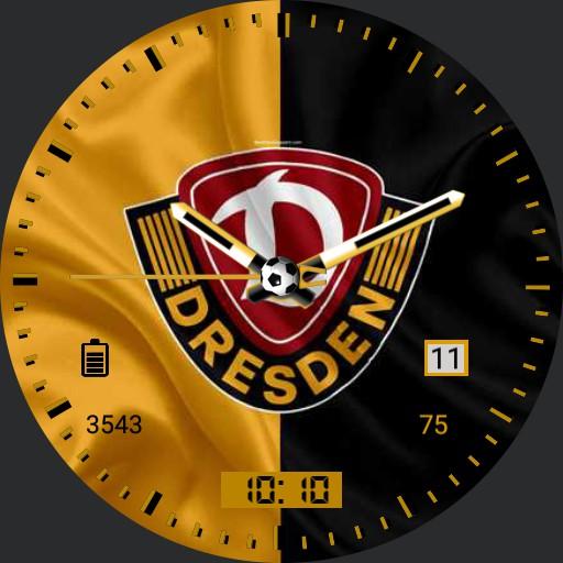 SG Dynamo Dresden Flag Analog
