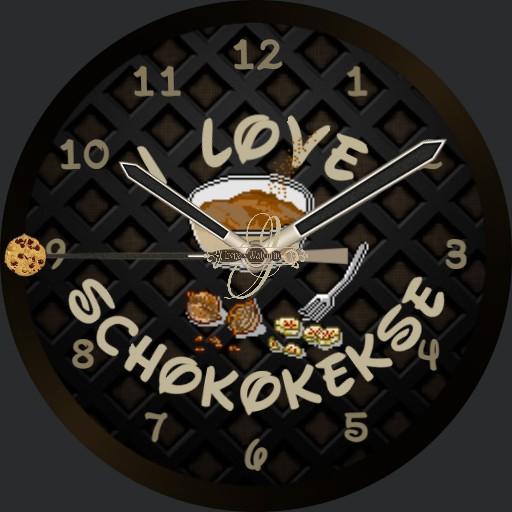 I love Schokokekse