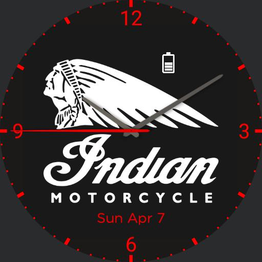 Indian Motorcycle Watch 5