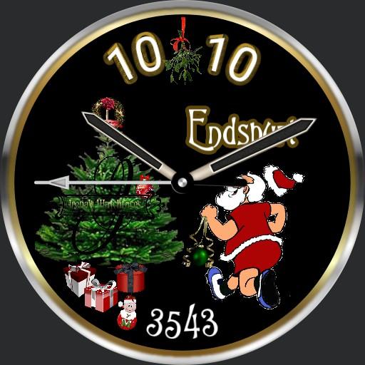 Christmas Endspurt Animation