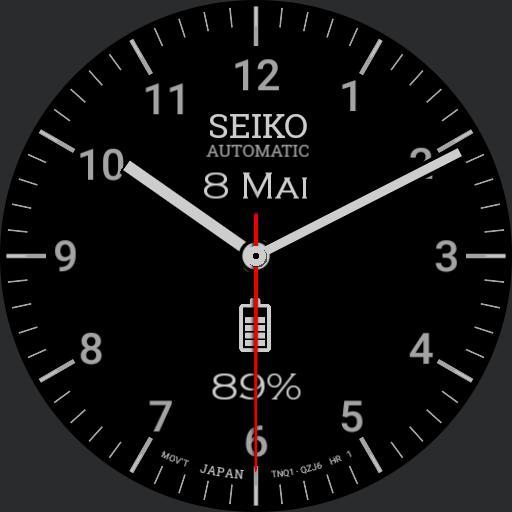 Steve Jobs Seik Automatic II