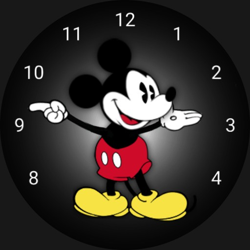 Mickey Mouse Apple Animated