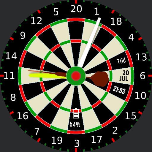 New Dart Board Watch