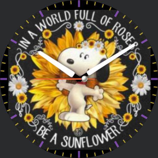 Sunflower Snoopy