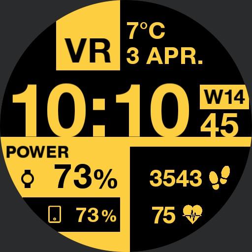 P.AIR Yellow Boxed