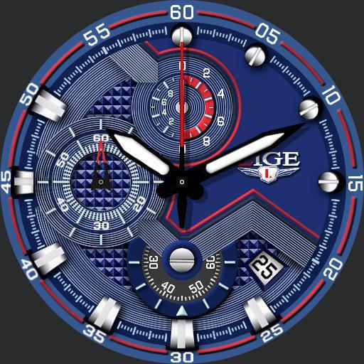Lige Automatic Chronograph 9821S