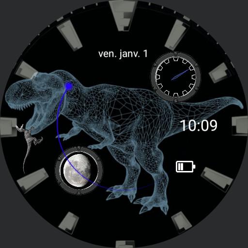 holo dino watch