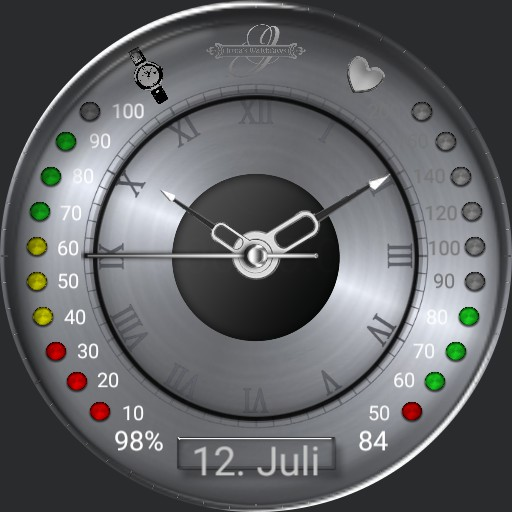 Grey Sportface Stopwatch