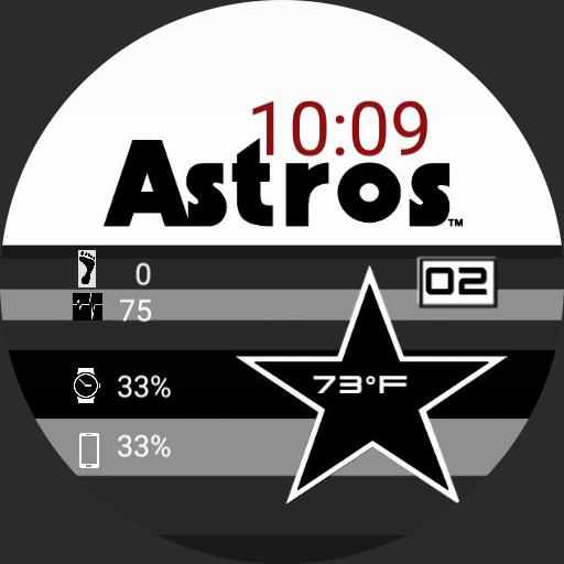 Astros Retro Monochrome Red Copy