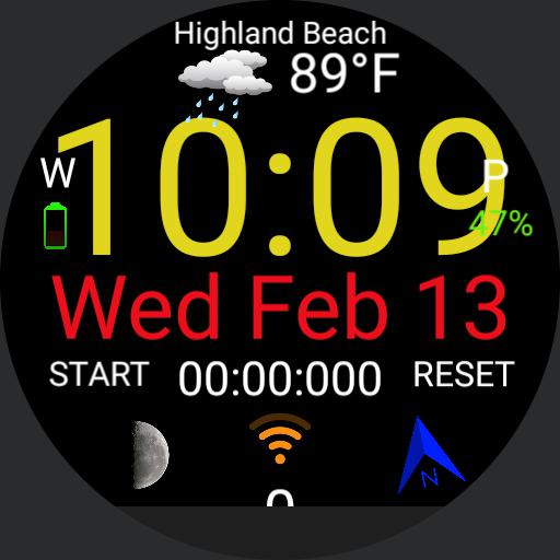1st custom watch face