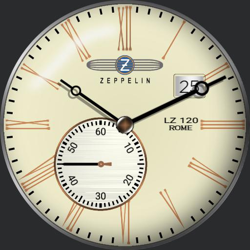 Graf Zeppelin Rome watch