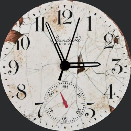 Old Style Watch Face RLW
