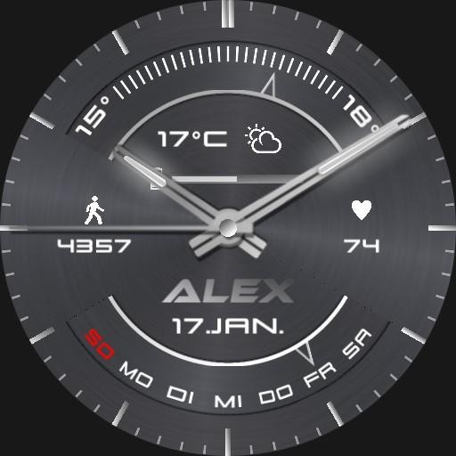 Alex Segment Real 3D Steel