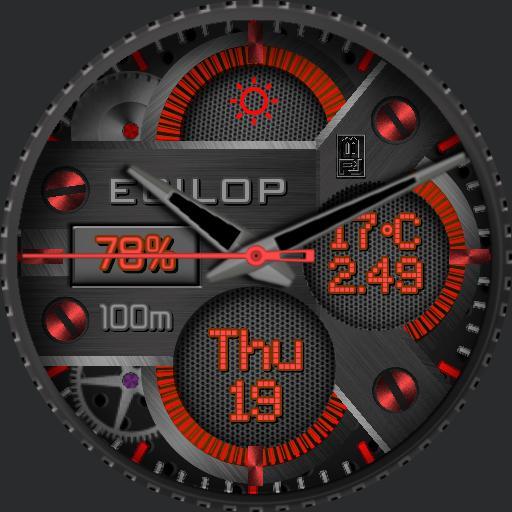 eciloP R Rouge Noir JBERRN220819