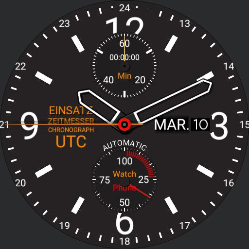 Mission Timer Chronograph UTC 3.0
