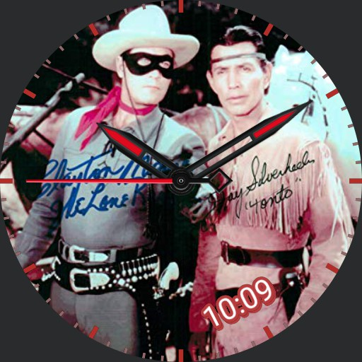 The Lone Ranger - LR3 - with Autographs