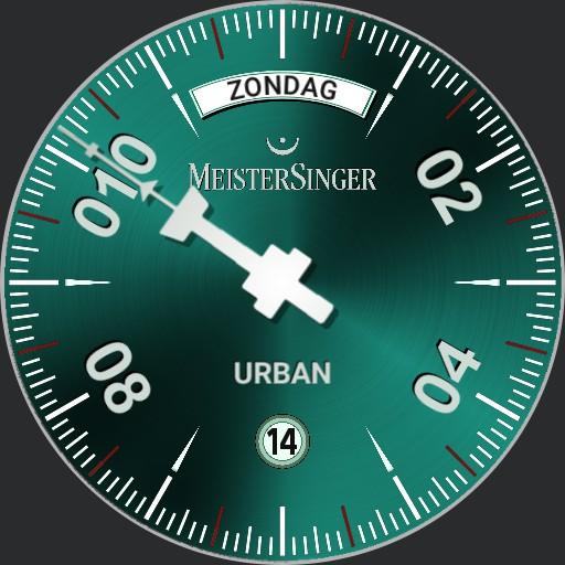 MeisterSinger Urban speciale editie Rotterdam