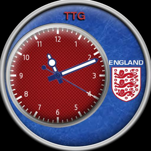 TTG ENGLAND ANALOGUE SMALL DIAL FLAT TIRE.