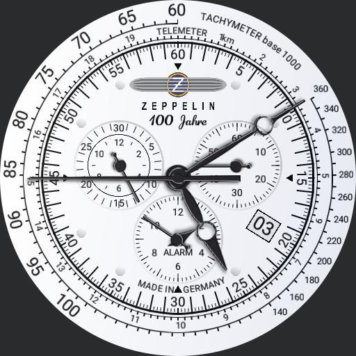 Zeppelin 100 Years Chronograph
